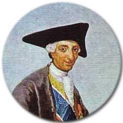 Carlos III cazador, por Goya