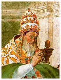 retrato del Papa