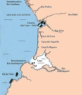 Marismas Del Guadalquivir Mapa.Estuario2
